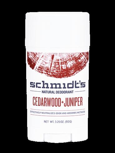 Schmidt's Deodorant – Cedarwood & Juniper NZ