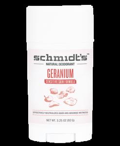 Schmidt's Sensitive Skin Deodorant - Geranium