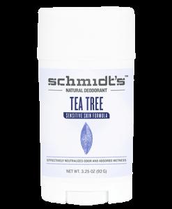 Schmidt's Sensitive Skin Deodorant - Tea Tree