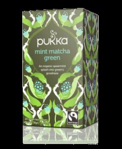 Pukka Mint Matcha Tea