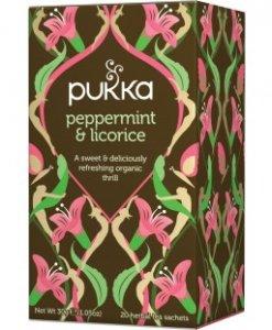 Pukka Peppermint Licorice Tea