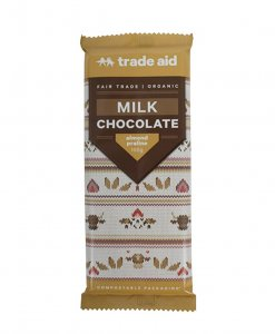 Trade Aid Almond Praline Chocolate