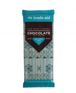 Trade Aid Salt Toffee Crisp Chocolate