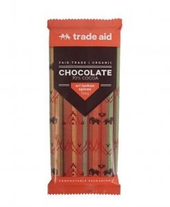 Trade Aid Sri Lankan Spices Chocolate