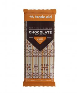 Trade Aid Sweet Almond Chocolate