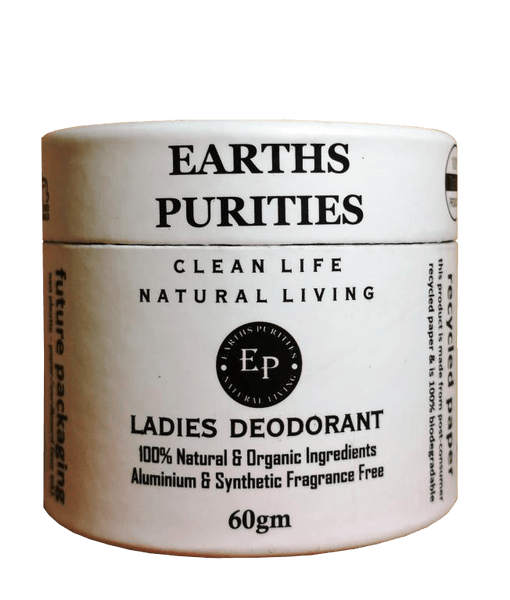 earths purities ladies natural deodorant