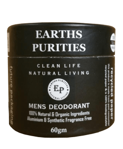 earths purities mens natural deodorant