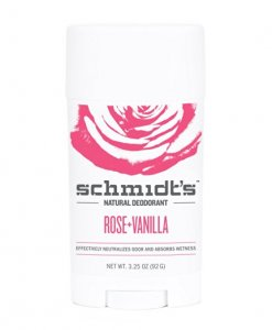 schmidt's deodorant rose vanilla