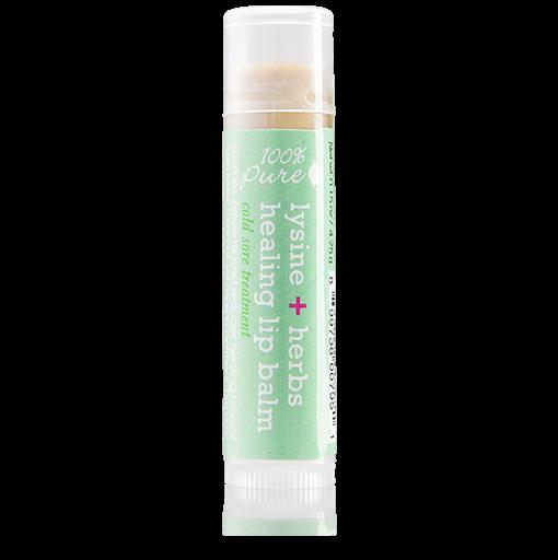 100% pure lysine lip balm