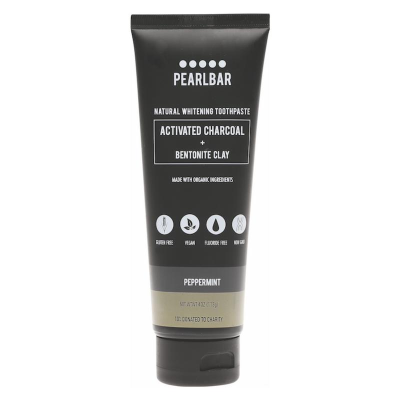 Pearlbar Charcoal Natural Whitening Toothpaste Oh Natural
