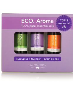 ECO. Aroma Trio - Lavender, Eucalyptus & Sweet Orange