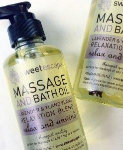 SWEET ESCAPE LAVENDER & YLANG YLANG – BATH & MASSAGE OIL
