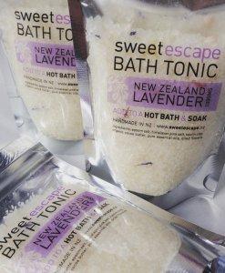 SWEET ESCAPE BATH TONIC MINI – NZ LAVENDER