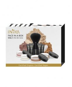 INIKA ORGANIC FACE IN A BOX – THE ESSENTIALS STARTER KIT (UNITY)