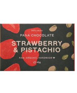 Pana Chocolate - Strawberry & Pistachio
