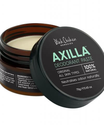 BLACK CHICKEN REMEDIES AXILLA NATURAL DEODORANT PASTE – ORIGINAL™