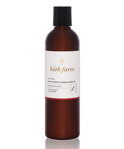 THE HERB FARM NOURISHING BLACKCURRANT & ORANGE SHAMPOO