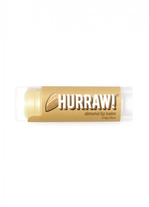 Hurraw Almond Lip Balm