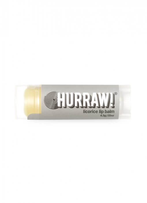 Hurraw Licorice Lip Balm