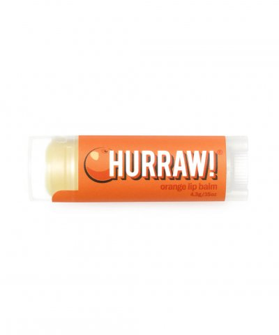 Hurraw Orange Lip Balm