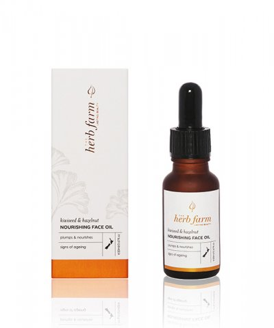 THE HERB FARM KIWISEED & HAZELNUT NOURISHING FACE OIL