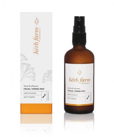 The Herb Farm Lemon & Echinacea Facial Toning Mist