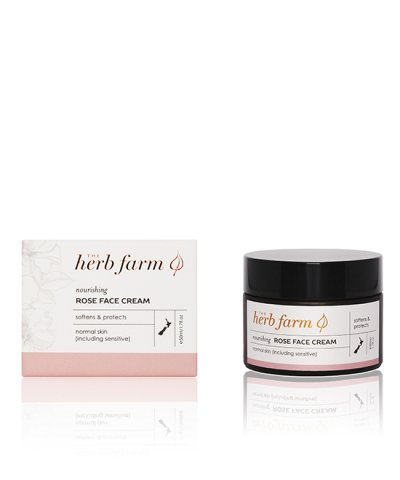 herb farm rose face cream