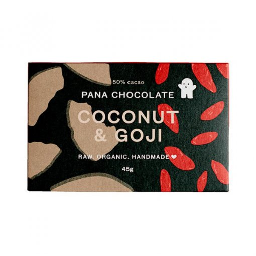 PANA CHOCOLATE – COCONUT + GOJI