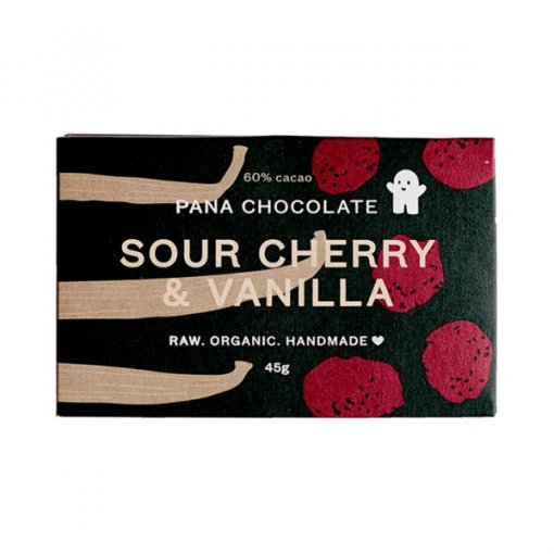 PANA CHOCOLATE – SOUR CHERRY + VANILLA