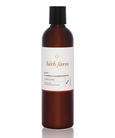 THE HERB FARM GENTLE CALENDULA & LAVENDER SHAMPOO