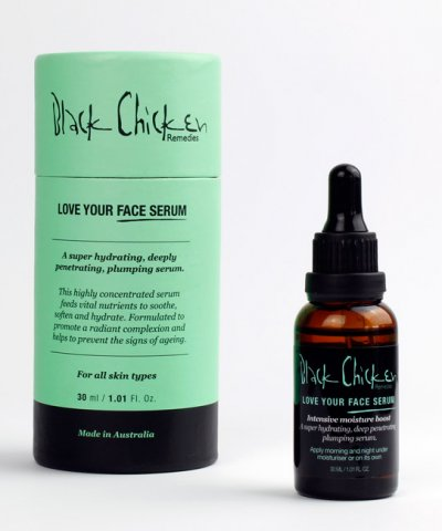 BLACK CHICKEN REMEDIES 'LOVE YOUR FACE' SERUM