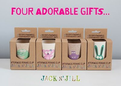 JACK N' JILL KIDS BIODEGRADABLE CUP