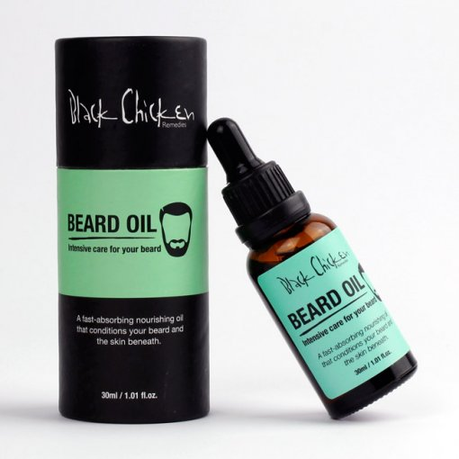 BLACK CHICKEN REMEDIES BEARD OIL