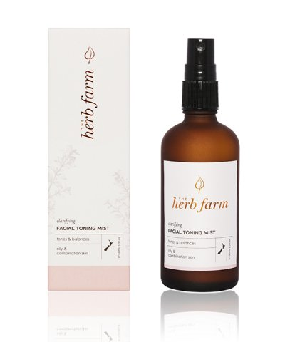 herb farm clarifying facial toning mist