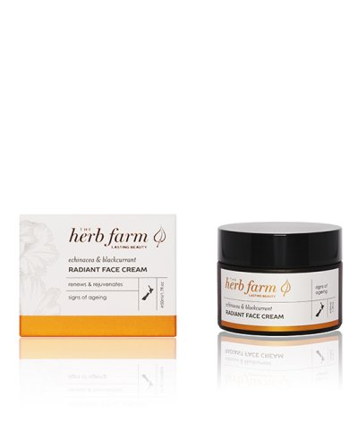 THE HERB FARM ECHINACEA & BLACKCURRANT RADIANT FACE CREAM