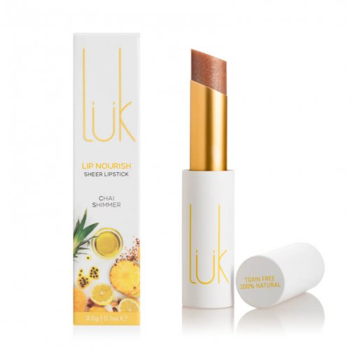LUK BEAUTIFOOD LIP NOURISH – CHAI SHIMMER