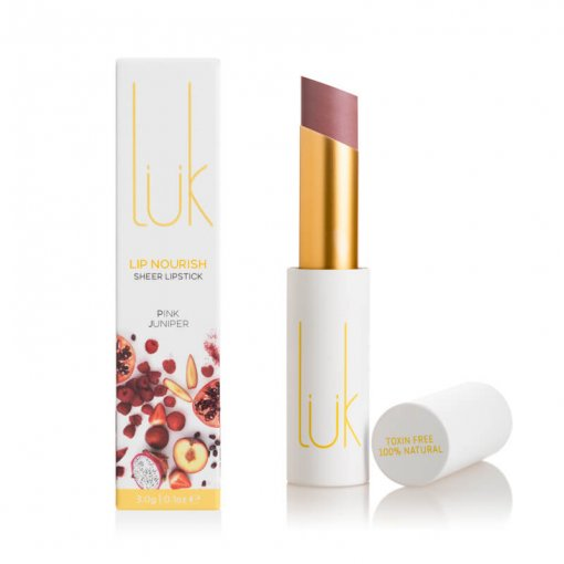 LUK BEAUTIFOOD LIP NOURISH – PINK JUNIPER