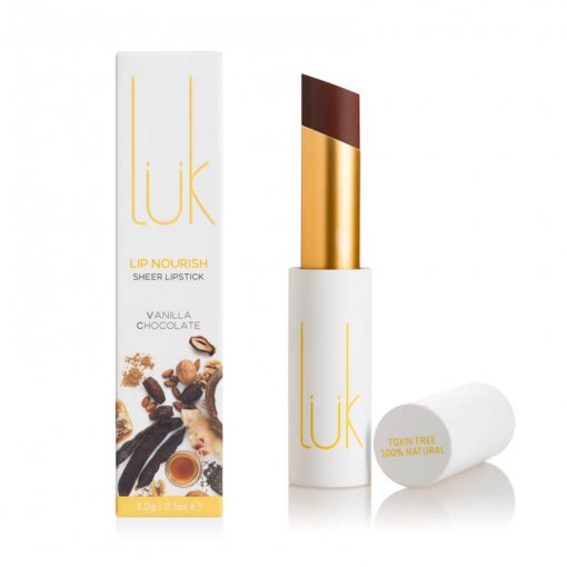 LUK BEAUTIFOOD LIP NOURISH – VANILLA CHOCOLATE