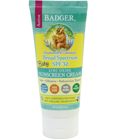 BADGER BALM BABY SUNSCREEN SPF30