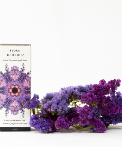 FLORA REMEDIA LAVENDER HAIR OIL TREATMENT