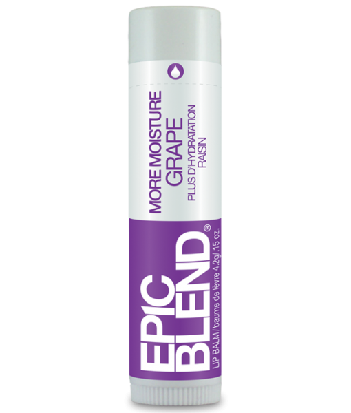 EPIC BLEND MORE MOISTURE LIP BALM – GRAPE