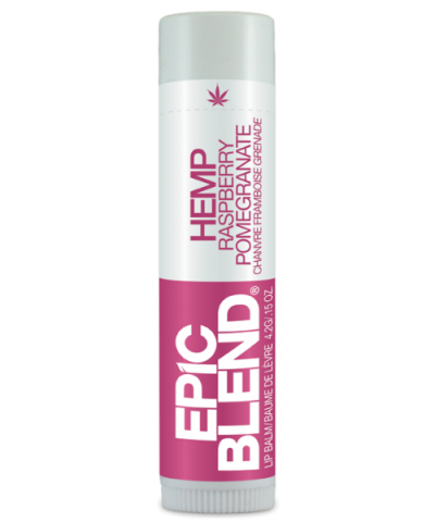 EPIC BLEND HEMP LIP BALM – RASPBERRY POMEGRANATE