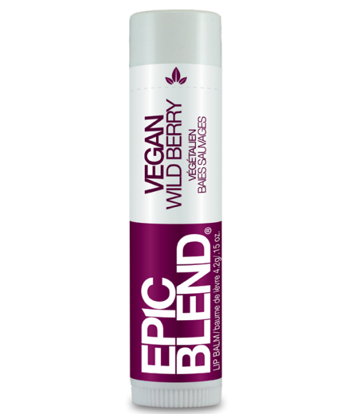 EPIC BLEND VEGAN LIP BALM – WILD BERRY