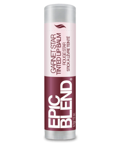 EPIC BLEND TINTED LIP BALM – GARNET STAR