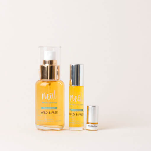 NEAT NATURAL PRODUCTS WILD & FREE NATURAL PERFUME