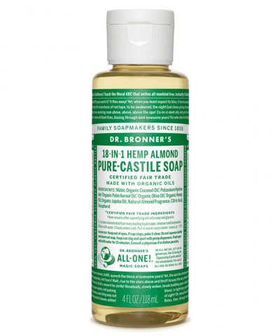 DR BRONNERS 18-IN-1 PURE CASTILE SOAP – ALMOND