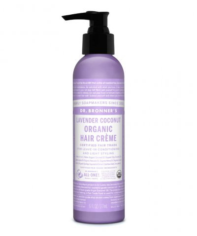 DR BRONNERS ORGANIC HAIR CREME – LAVENDER COCONUT