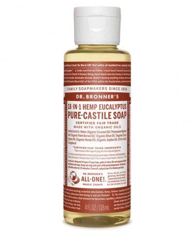 DR BRONNERS CASTILE SOAP – EUCALYPTUS