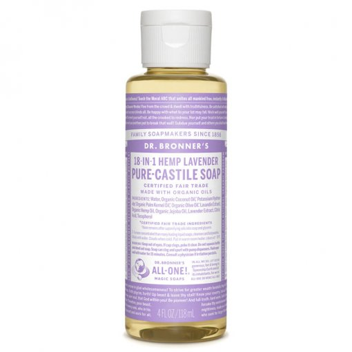 DR BRONNERS 18-IN-1 PURE CASTILE SOAP – LAVENDER