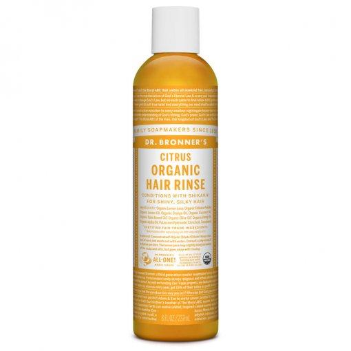 DR BRONNERS ORGANIC HAIR RINSE – CITRUS